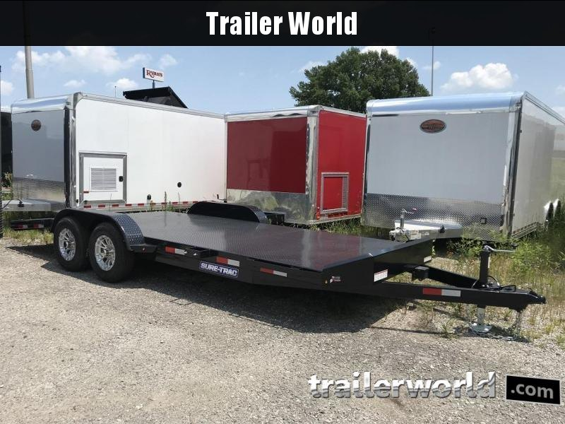 2018 Sure-Trac 20' Steel Deck Car Hauler 10k GVWR