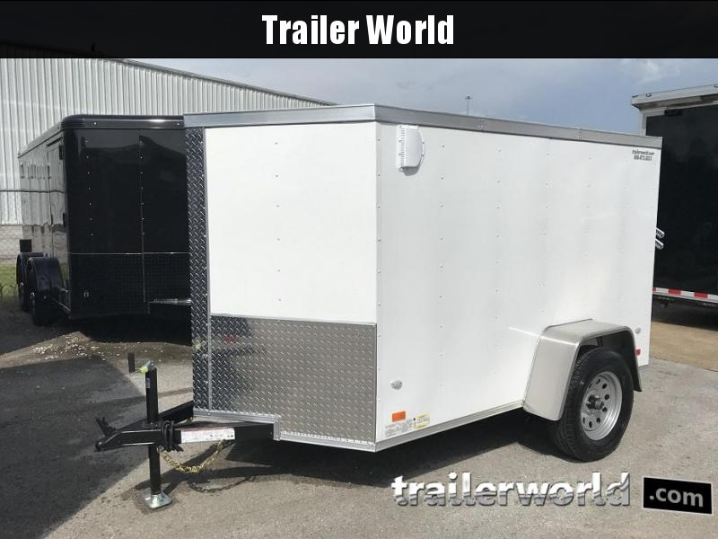 2018 CW 5' x 8' x 5' Vnose Enclosed Cargo Trailer