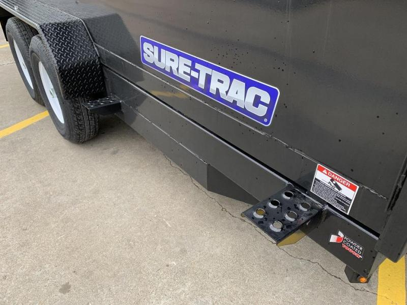2019 Sure-Trac 14' Dump 4' Sides Trailer 14K GVWR Telescopic