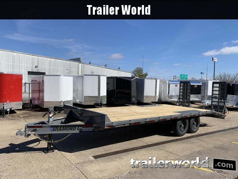 2019 Diamond C DEC207 22' Deck Over Equipment Trailer