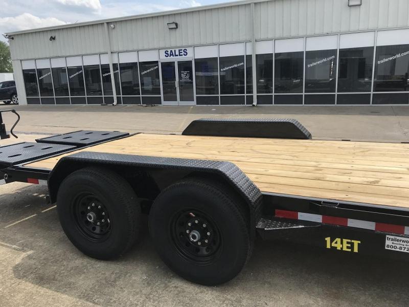 2020 Big Tex 14ET-20' Mega Ramps Equipment Trailer  7 Ton