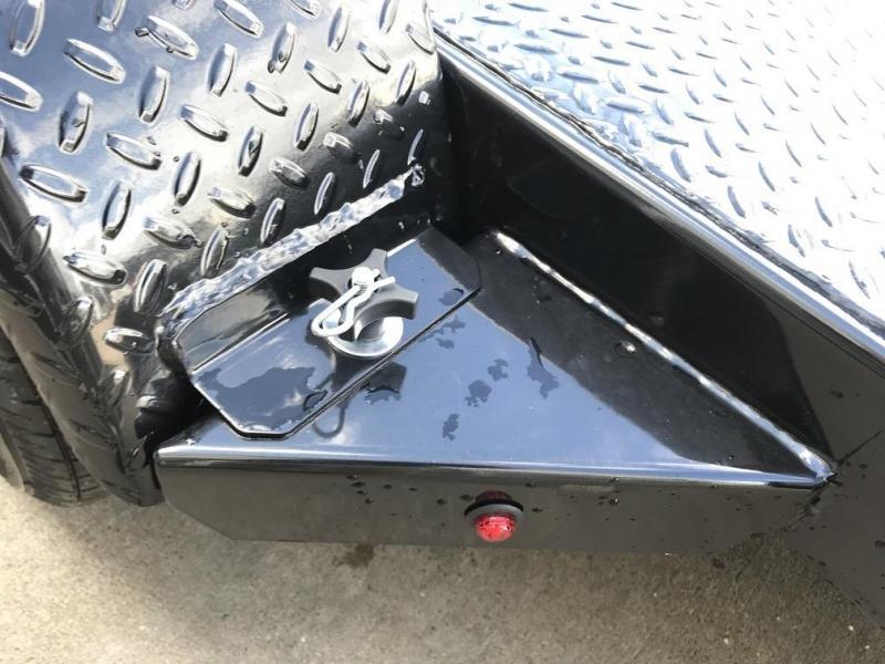 2018 Sure-Trac 18' Steel Deck Car Hauler Trailer 7k GVWR