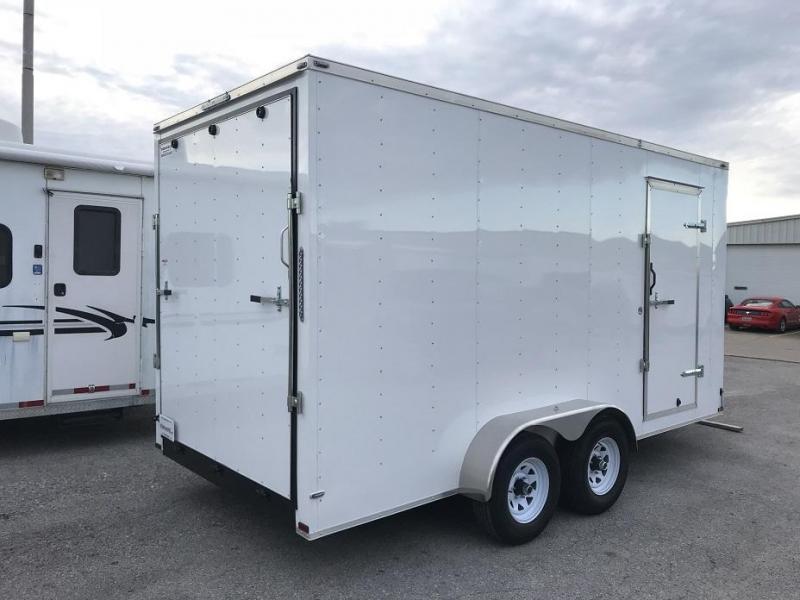 2018 Lark 7' x 16' x 7.5' Vnose Enclosed Cargo Trailer