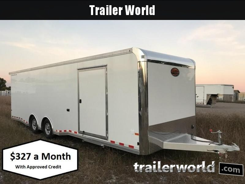 2019 Sundowner 28' Spread Axle Car Aluminum Race Trailer