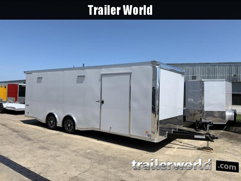 2020 Bravo Star 24' Enclosed Car Trailer Show Car Pkg