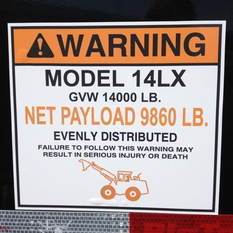2019 Big Tex Trailers 14LX-14' Dump Trailer w/ TARP