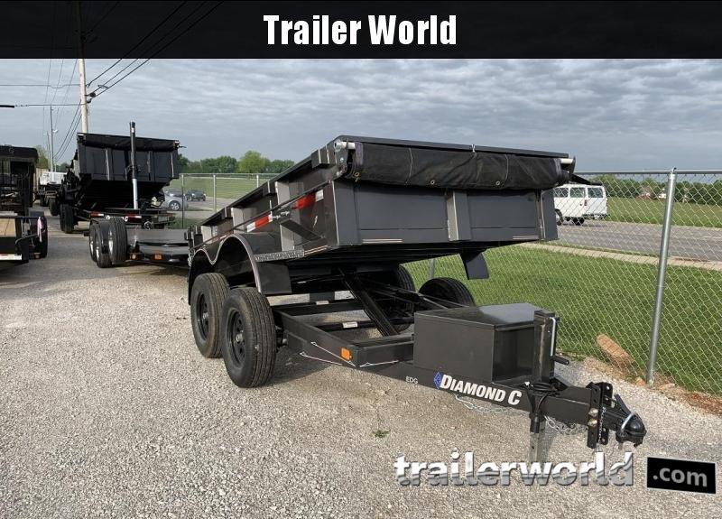 2019 Diamond C EDG 5' x 10' Dump Trailer