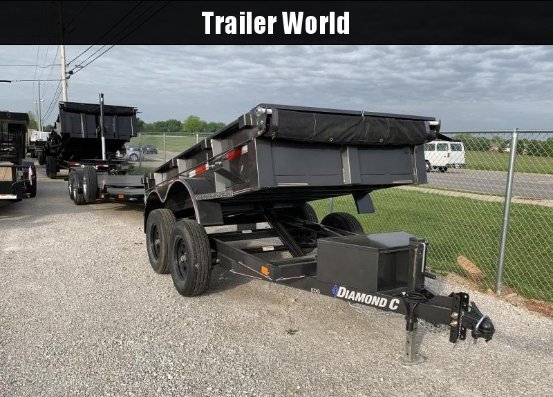 2019 Diamond C EDG 5' x 10' Dump Trailer