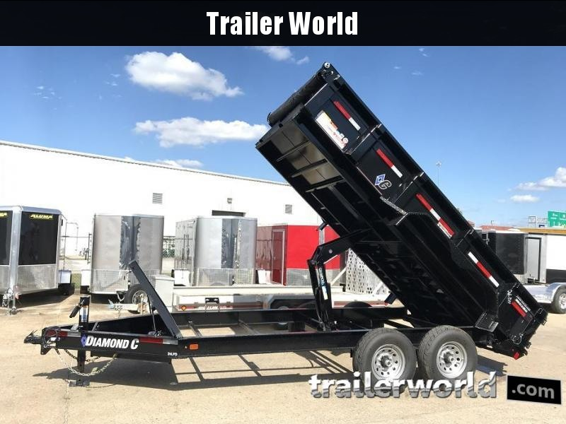 2018 Diamond C 24LPD 14' Dump Trailer Low Profile  in Ashburn, VA