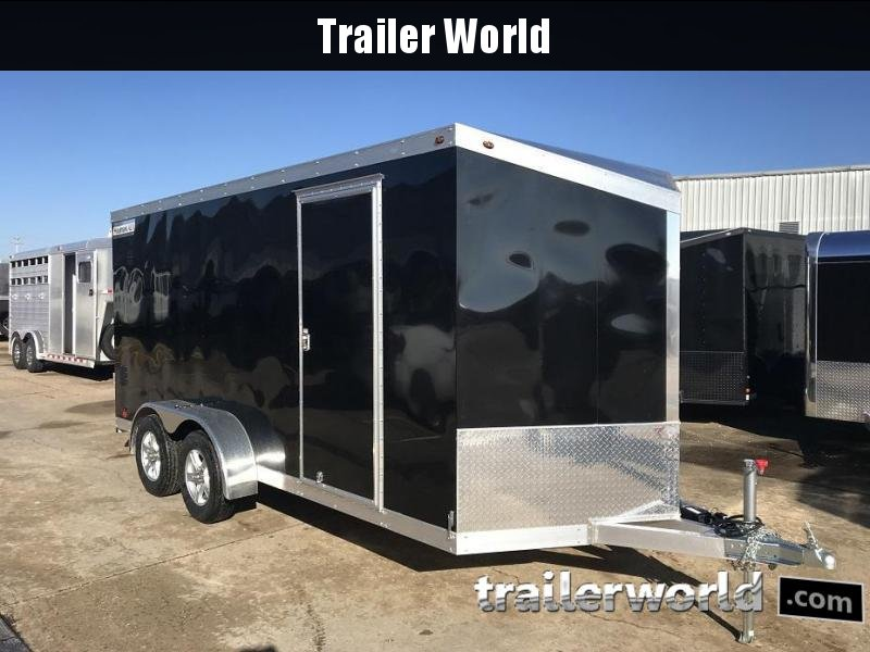 2019 Haulmark HAUV7x16WT2 7' x 16' x 6.5' Aluminum Enclosed Cargo Trailer