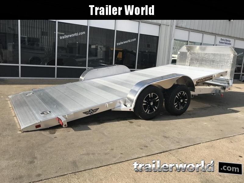 2019 Aluma 8216 Tilt Bed Open Car Hauler Trailer Anniversary Edition