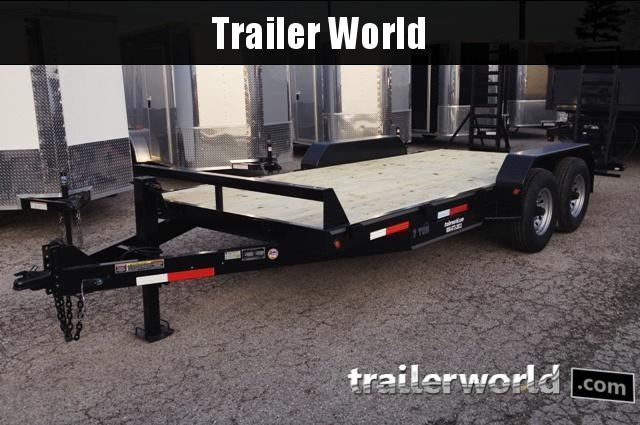 2019 Better Built 18'  7 Ton Equipment Trailer