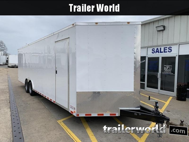 2019 Empire Cargo 28' Vnose Enclosed Car / Race Trailer in Ashburn, VA