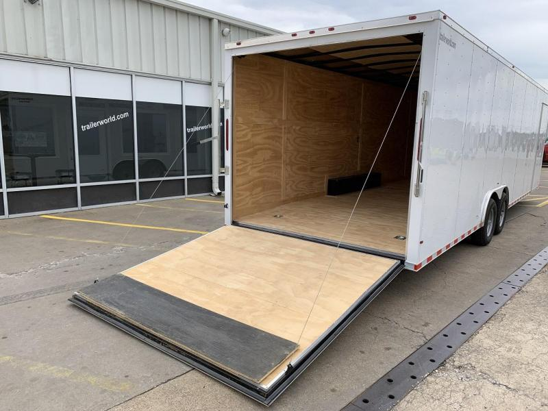 2019 Empire Cargo 28' Vnose Enclosed Car / Race Trailer