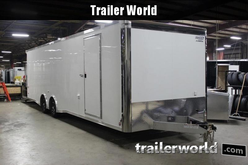 2019 Bravo Silver Star Aluminum 28' Race Trailer