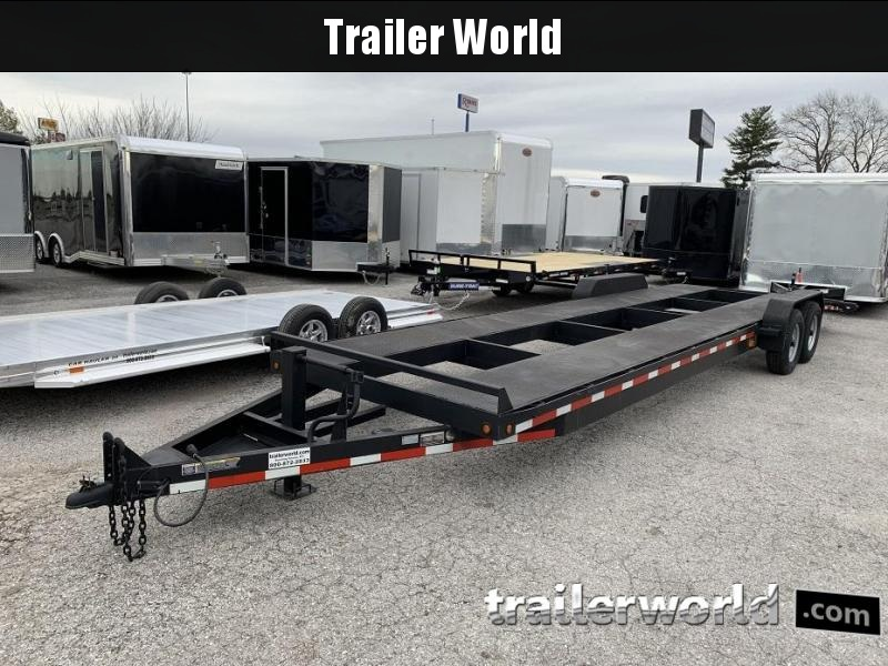 2014 B-B 32' 2 Car Bumper Pull Trailer