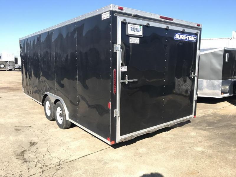 2014 Sure-Trac 20' VNose Enclosed Car Trailer