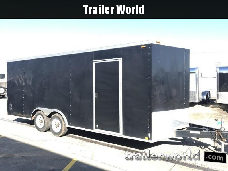 2014 Sure-Trac 20' VNose Enclosed Car Trailer
