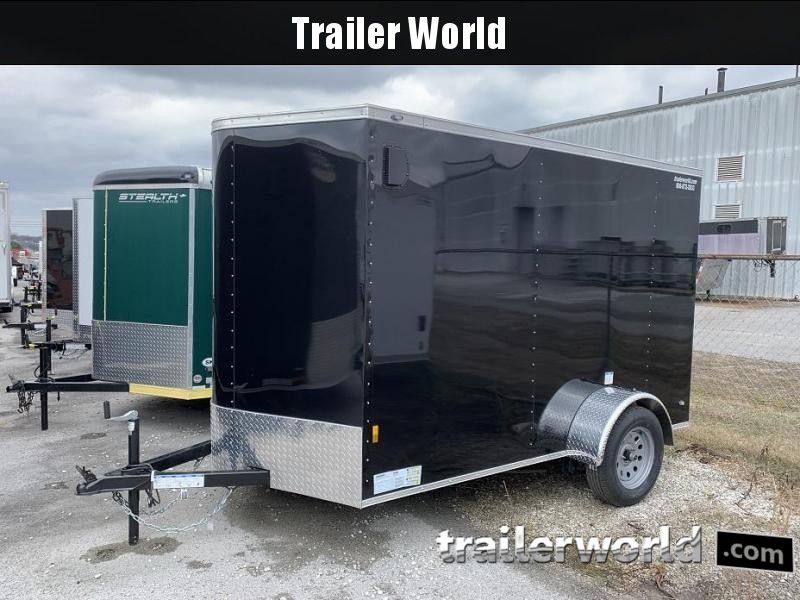 2018 Continental Cargo 6' x 10' Enclosed Cargo Trailer