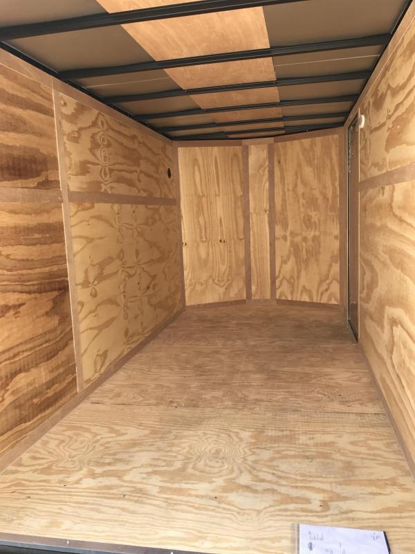 2018 Continental Cargo 6' x 10' Enclosed Cargo Trailer