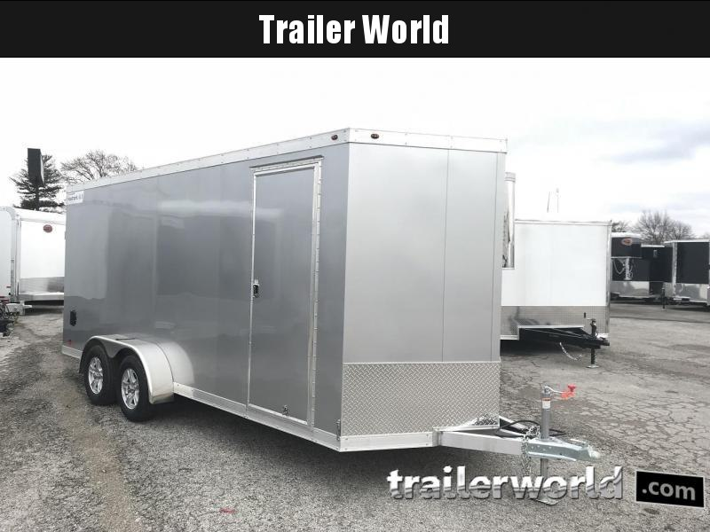 2019 Haulmark HAUV7x18WT2 7' x 18' x 7' Aluminum Enclosed Cargo Trailer