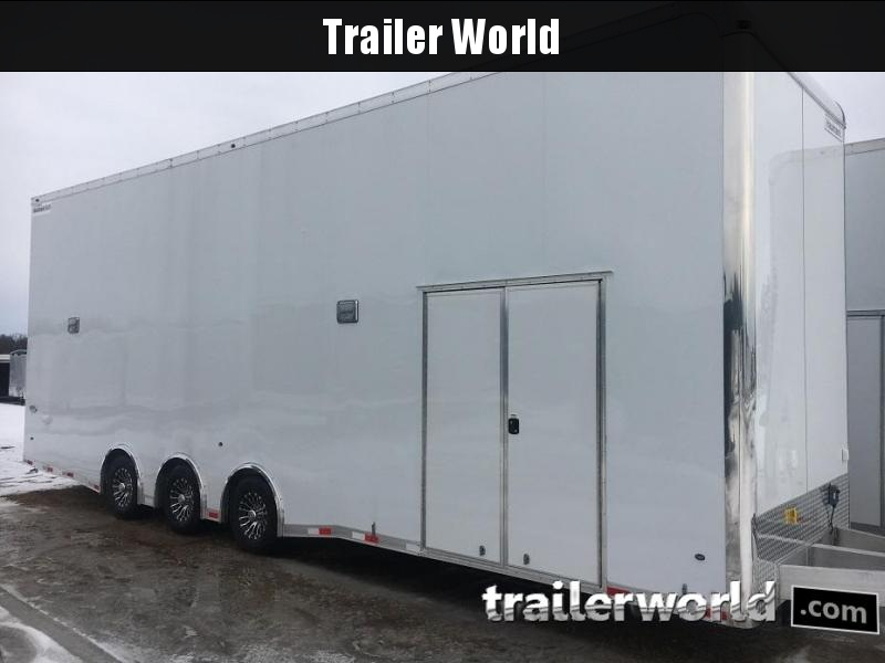 2019 Haulmark Aluminum 32' Stacker Race Trailer