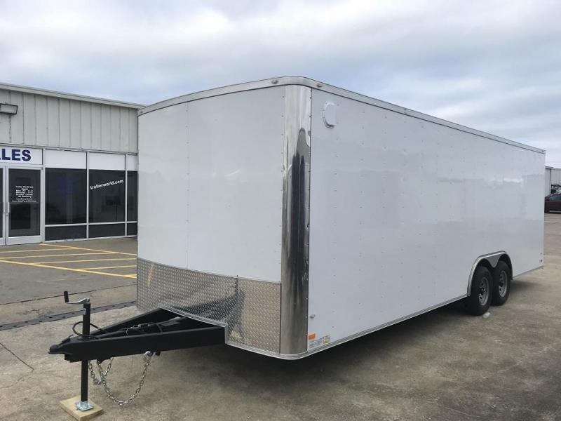 2019 CW 24' Enclosed Car Trailer 7' Tall 10k GVWR