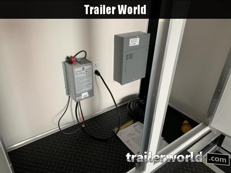 2020 Cargo Mate Aluminum 28' Stacker Race Trailer