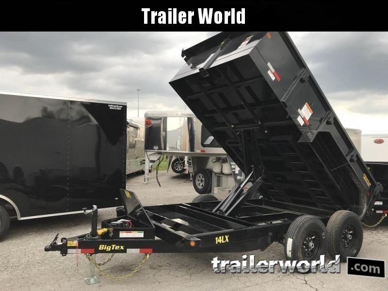 2018 Big Tex Trailers 14LX-12' Dump Trailer w/ TARP