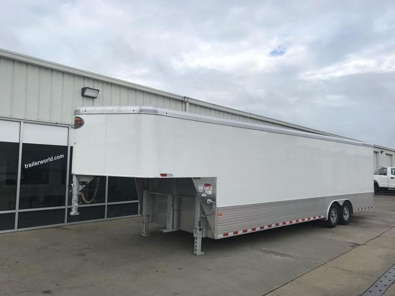 2019 Sundowner Aluminum 36' Gooseneck Enclosed Cargo Trailer w/ Ramp & E-Track