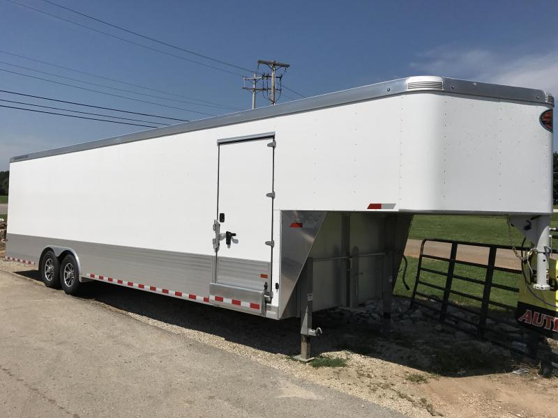 2019 Sundowner Aluminum 36' Gooseneck Enclosed Cargo Trailer w/ Ramp & E-Track