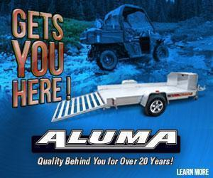 2018 Aluma UTV10 Aluminum Utility Trailer 6' x 10'