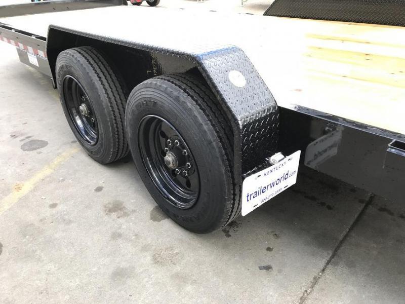 2019 Big Tex NEW MODEL 16ET-22' Low Profile Equipment Trailer 8 Ton
