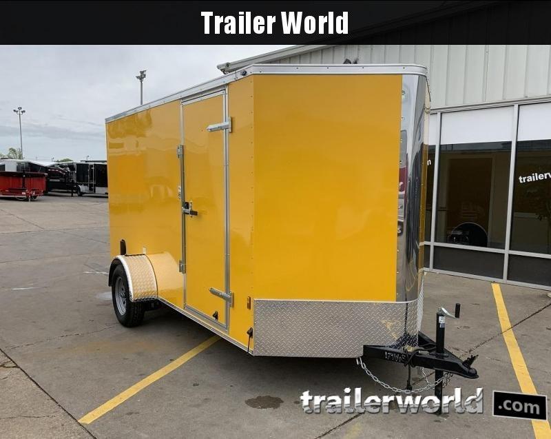 2020 Continental Cargo 6 x 12 x 6.3 Trailer w Ramp Door in Ashburn, VA