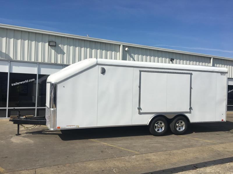 Enclosed Car Trailers Trailer World Of Bowling Green Ky
