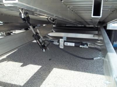 2018 Aluma 8218 Tilt Bed Aluminum Open Car Hauler Trailer