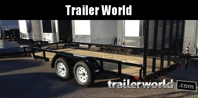 2018 Big Tex 50LA 16' Utility Trailer