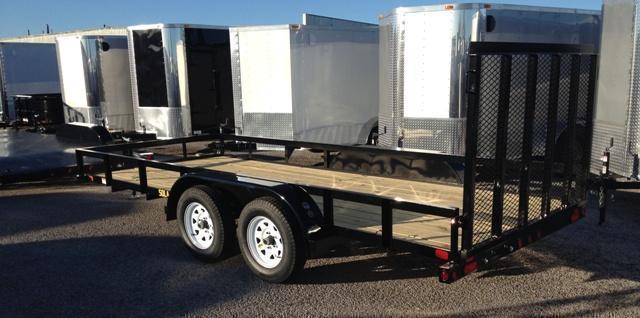 2018 Big Tex 50LA 16' Utility Trailer