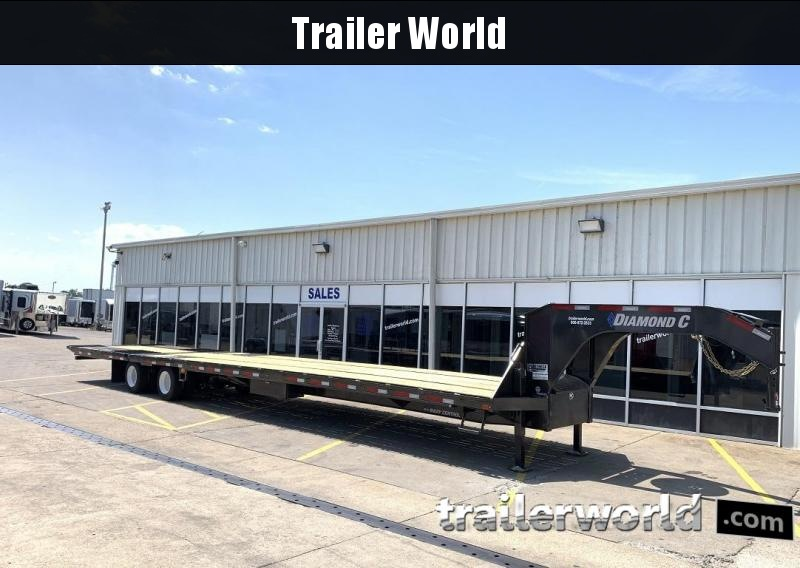 2019 Diamond C FMAX212 44' Hydraulic Dovetail Air Ride HOT SHOT Trailer