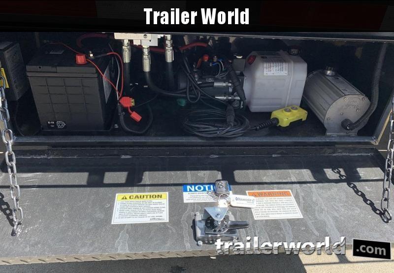 2019 Diamond C FMAX212 44' Hydraulic Dovetail Air Ride HOT SHOT Trailer