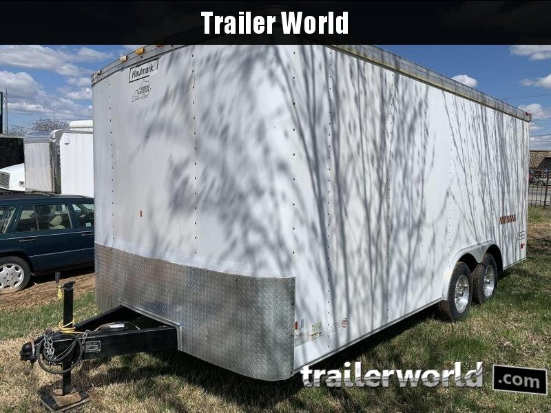 2007 Haulmark 18' Enclosed Car Trailer Insulated w/ AC in Ashburn, VA