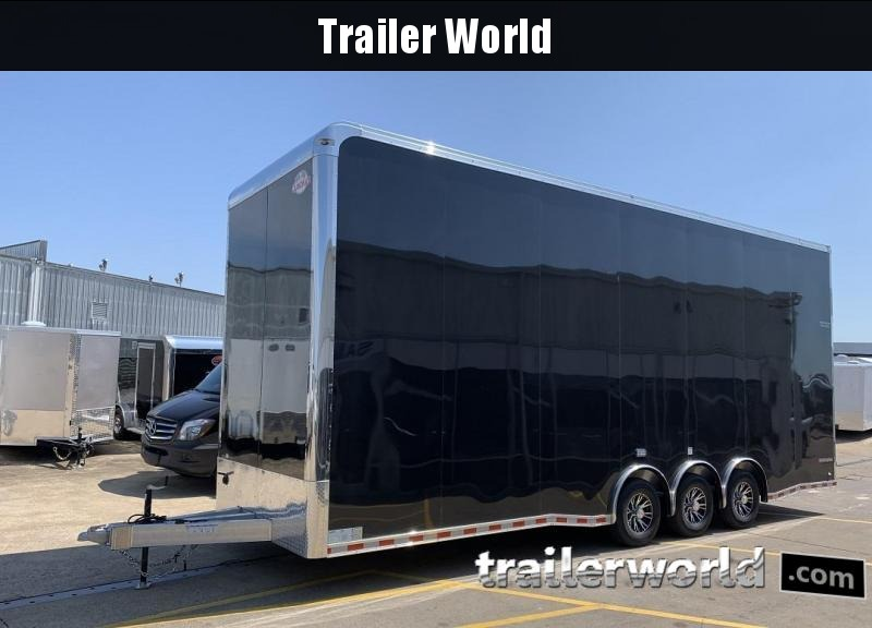 2020 Cargo Mate Aluminum 28' Stacker Race Trailer