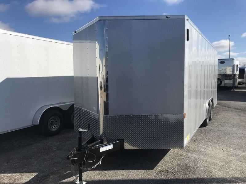 2019 Forest River 8.50x20TA2  20' V nose Enclosed Car Trailer
