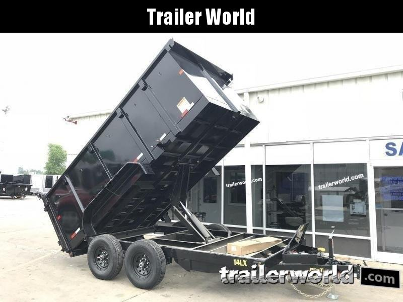 2020 Big Tex Trailers 14LX-14' Dump Trailer w/ 4' Sides & TARP