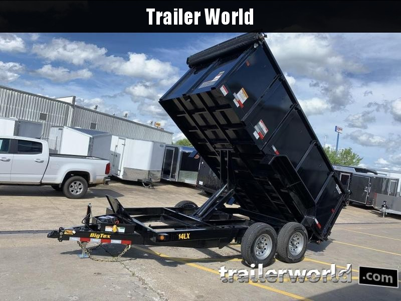 2020 Big Tex Trailers 14LX-14' Dump Trailer w/ 4' Sides and TARP