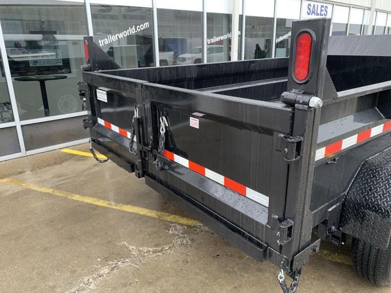 2019 Sure-Trac 82 IN X 12 LProfile Scissor Dump 12K
