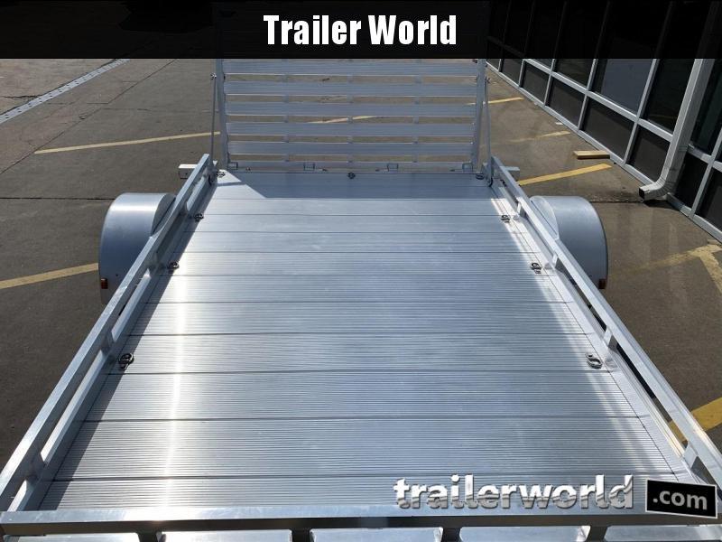 2008 Featherlite 6610 Aluminum Utility Trailer