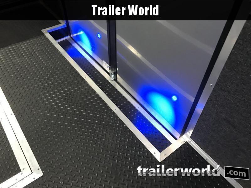 2020 Cargo Mate 32' Eliminator Black-Out Race Trailer