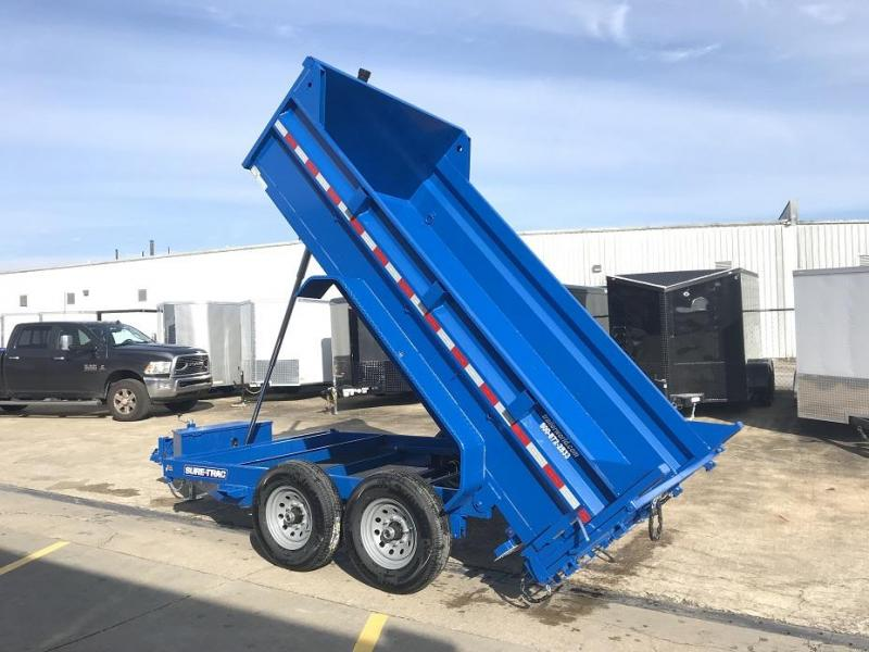 2019 Sure-Trac 12' Dump Trailer Telescopic Hoist 12k GVWR