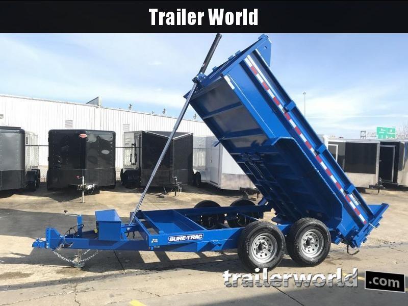 2019 Sure-Trac 12' Dump Trailer Telescopic Hoist 12k GVWR in Ashburn, VA
